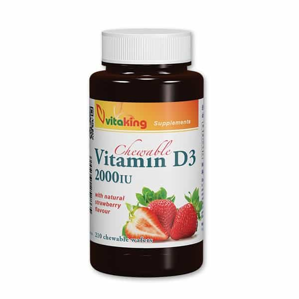 Vitaking_Vitamin_D3_2000IU_strawberry_210